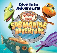 pbs kids dinosaur train submarine