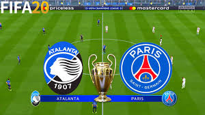 FIFA 20 | Atalanta vs PSG - UEFA Champions League - Full Match ...