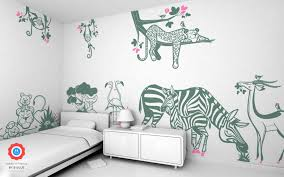 Jungle Wall Stickers Savanna Wall Decor For Nursery Or Kids Room