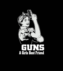 Guns A Girls Best Friend Vinyl Decal Sticker Sticker Flare Llc