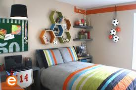 Sporty Style 5 Themed Kids Bedrooms Tween Boy Bedroom Boy Bedroom Design Boys Room Design