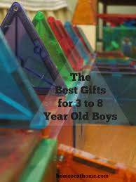 the best gifts for 3 to 8 year old boys