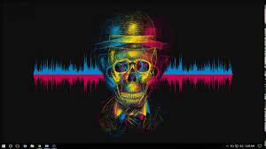 simplistic audio visualizer showcase