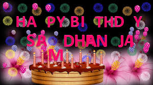 samdhan ji happy birthday to you