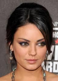makeup for dark hair and dark eyes