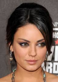 makeup for dark hair and brown eyes