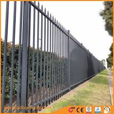 China Wholesale Modern New Design Wrought Iron Garden Fence Panel China Garden Fence And Fencing Price