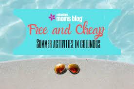 free summer activities in columbus