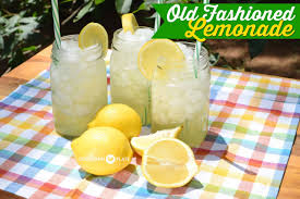old fashioned lemonade and the folks