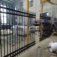 Cheap Wrought Iron Fence Panels For Sale Galvanized Steel Fence Ornamental Fence Wholesale Garden Supplies Products On Tradees Com