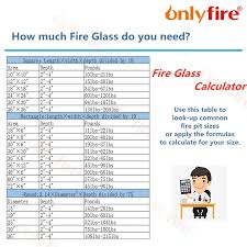 onlyfire blended for fire pit glass
