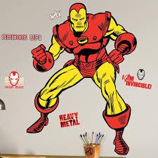 Wallhogs Marvel Comics Iron Man Classic Wall Decal Wayfair