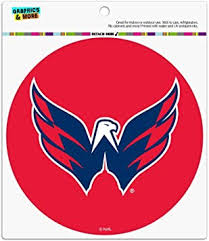 Amazon Com Graphics And More Nhl Washington Capitals Logo Automotive Car Refrigerator Locker Vinyl Circle Magnet Automotive