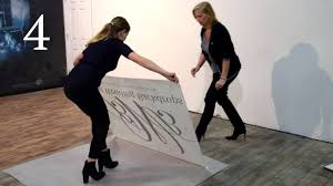 How To Install A Dance Floor Decal By Best Wedding Backdrops Youtube