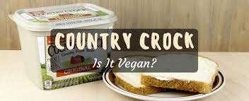 is country crock vegan look at the