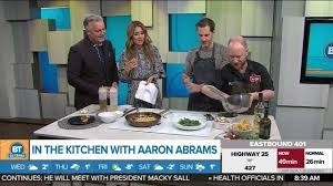 Cooking in the Kitchen with Aaron Abrams - YouTube