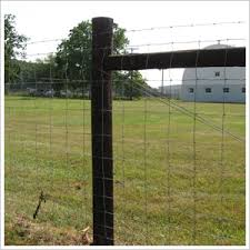 High Tensile Field Fence System Strong Enough For Animal Keeping And Breeding