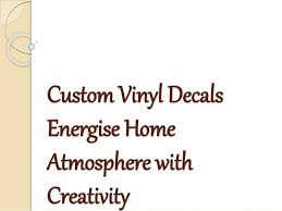 Custom Vinyl Decals And Harnessing The Power Of Thoughts