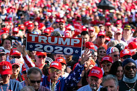 Republicans show up in force for Trump 'homecoming' rally | Miami Herald