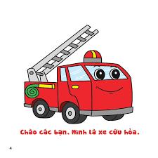 Tô màu Xe cứu hỏa, xe cứu thương và xe cảnh sát