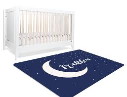 Matthew Moon Stars Nursery Rug Child Be Wild