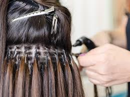 pletely remove hair extensions glue