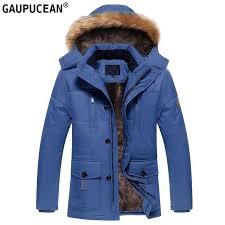Erkekler kış ceket kapşonlu kürk şapka cepler Zip düğmeler uzun erkek yeşil  haki mavi kalın polar sıcak giysiler adam siper ceket - hl.markochkupa.se