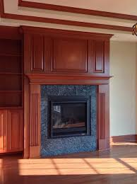 natural stone fireplace surrounds