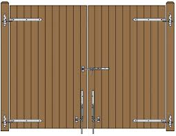 Free Diy Wood Gate Plans