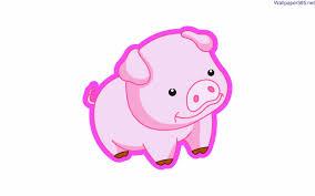 png cartoon pig wallpaper 26701 h