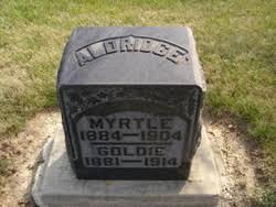 Myrtle Harrison Aldridge (1884-1904) - Find A Grave Memorial