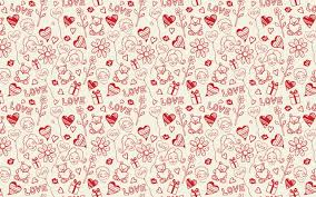 love printed ilration hd wallpaper
