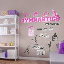 Fathead Gymnastics Collection X Large Removable Wall Decals Walmart Com Walmart Com