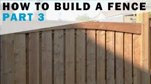 How To Build A Fence Part 3 Adding Style Youtube