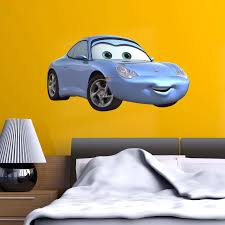 Cars 3 Sally Carrera Wall Stickers Decal Home Decor Kids Bed Room Vinyl Art Boys Girls Mural Free Shipping Wall Stickers Aliexpress