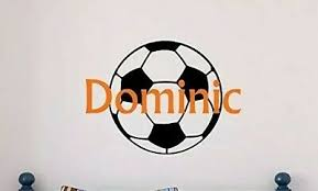 Soccer Ball Personalized Decal Sticker For Yeti Cup Tumbler Rumbler Water Bottle 3 23 Picclick