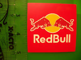 Free Red Bull Energy Drink Vinyl Sticker Decal Weatherproof Stickers Listia Com Auctions For Free Stuff