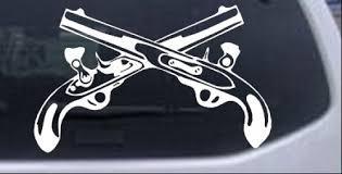 Military Police Cross Pistols Car Or Truck Window Decal Sticker Rad Dezigns