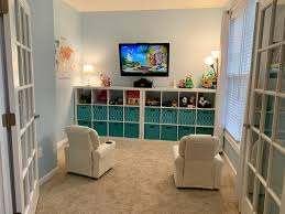 Unisex Playroom Lots Of Storage Unisex Kids Room Kid Room Decor Kids Playroom