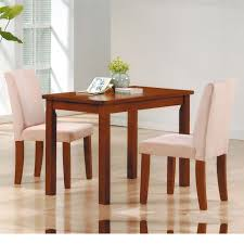 Dreamfurniture Com 04000 3 Piece Kids Dining Set With Oak Table And Microfiber Chair