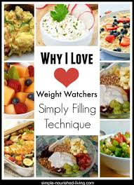 weight watchers simply filling