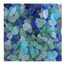 recycled glass blocks for landscaping