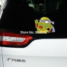 Car Styling Funny Ninja Turtles Leonardo Raphael Michelangelo Donatello Car Sticker Car Body Decal Buy At The Price Of 0 76 In Aliexpress Com Imall Com