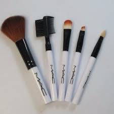 mac 5 piece makeup brush set konga