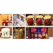 Mua Mô hình nhà búp bê gỗ - tửu quán Izakaya Nhật Bản truyền thống (đủ Mica  che bụi + thêm keo silicone) chỉ 350.000₫