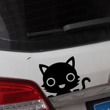 Buy Car Sticker Cute Cat Pattern Removable Waterproof Vehicle Decal Car Sticks Decals At Jolly Chic