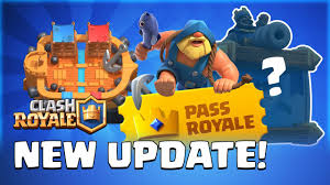Clash Royale: July Update Reveal! Season 1 Gameplay | Pass Royale ...