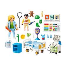 Playmobil 70192 Hospital Children S Hospital Room