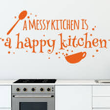 Style And Apply Happy Kitchen Wall Decal Wayfair
