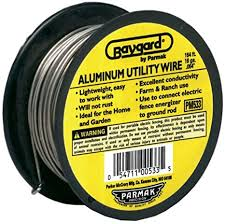 Amazon Com Baygard Electric Fence 16 Gauge Aluminum Wire 164 Feet 00533 Agricultural Fence Accessories Garden Outdoor